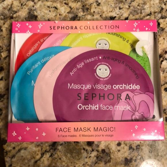 01139b71a32 Sephora Makeup | Collection Face Mask Set Of 6 New | Poshmark
